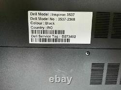 Dell inspiron 15 3537 i7 4th 8Gb ram, 1TB HDD, 2Gb Video memory WIN10 Pro CD/DVD