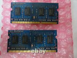 Elpida 4GB (2 x 2GB) PC3 10600 1333 DDR3 Sodimm Laptop RAM Memory 204 pin