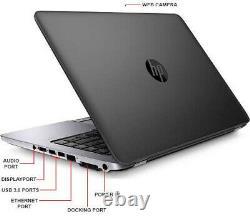 HP EliteBook 840 G1 14 Core i5 8GB 180GB SSD WiFi Win 10 Pro Ultrabook Laptop