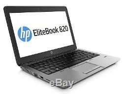 HP Elitebook Laptop 12.5 HD Notebook 8GB RAM Memory 240GB Fast SSD Windows 10