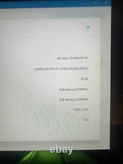 HP Omen 15 2020 i7 with RTX 2070 max Q 16 gigabytes of RAM and 1TB of memory