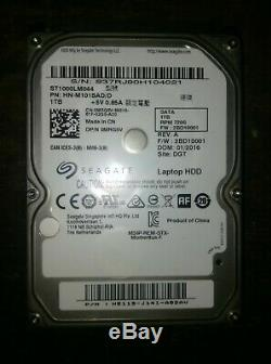 HP Pavilion 17-e017dx AMD A8 2.1MHz 8Gb Memory RAM ST1000LM044 0.85A Hdd