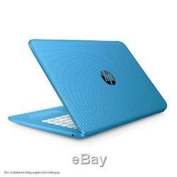 HP Stream 14 Laptop Intel Celeron N3060 4GB RAM 32FB Flash Memory Aqua Blue