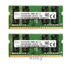 Hynix 2x 16GB 2666MHz DDR4 32GB RAM SODIMM PC4-21300 Mac Mini iMac Memory MwSt