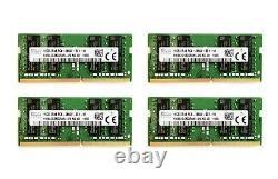 Hynix 4x 16GB 2666MHz DDR4 32GB RAM SODIMM PC4-21300 Mac Mini iMac Memory DIFF