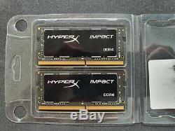 HyperX Impact DDR4 32GB 2x16GB RAM SODIMM Memory 2666 MHz CL15 260 Pin Laptop