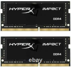 HyperX Impact DDR4 32GB Memory 2666MHz CL15 (2x16GB Kit) NUC SODIMM Laptop RAM