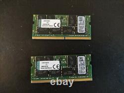 Kingston 32GB (2x 16GB) DDR4 2133MHz Laptop RAM PC4-17000 SODIMM Memory