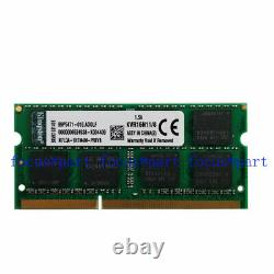 Kingston 32GB 4x8GB PC3-12800 DDR3 1600Mhz 204pin SoDimm Laptop 1.5V Memory Ram