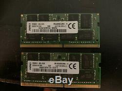 Kingston 32GB DDR4 2400MHz Memory / RAM (16GB + 16 GB) laptop memory