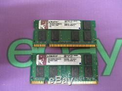 Kingston 4GB (2 x 2GB Single Sticks) PC2-6400 666 DDR2 Sodimm Laptop RAM Memory