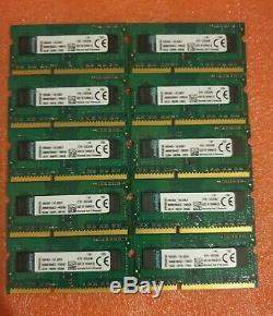 Kingston Job Lot 10x4GB DDR3 PC3-12800S 1600MHz SODIMM Laptop RAM Memory 204pin
