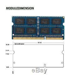 LOT Hynix 20x 4GB 2RX8 DDR3 1333MHz PC3-10600S 1.5V SODIMM Laptop Memory RAM 52#