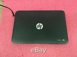 LOT OF 10 HP Chromebook 11 G3 Laptop Intel Core 2.16GHz 4GB RAM Memory 16GB SSD