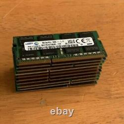 LOT OF 10 X 8GB DDR3 Laptop Ram Memory 2Rx8 PC3L-12800S MIXED BRANDS