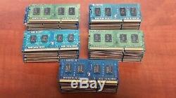LOT OF 50 MEMORY STICKS 2GB Laptop/Notebook PC3-8500 DDR3 1066 SODIMM RAM