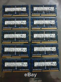 Laptop HYNIX DDR3 10X8GB PC3L 12800 204PIN Ram Memory job lot