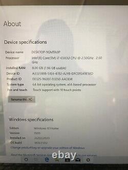 Lenovo yoga 710-14isk intel i7 500gb Memory 8gb Ram 2-in-1 14