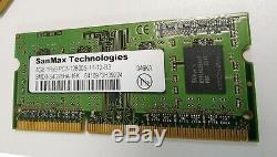 Lot (100 PCs) 4GB DDR3-1600 PC3-12800 SanMax LAPTOP Memory SODIMM RAM SanMax