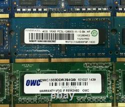 Lot Of 16 / DDR3 PC3 / 4GB / Laptop Memory RAM