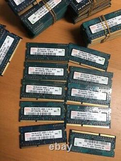 Lot Of 490pcs 1GB mixed PC3-8500S Laptop Memory Ram, Samsung, Hynix, MICRON