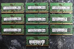 Lot of 10, 8GB DDR4 2666v MHz 260 Pin Module SO-DIMM Laptop Memory RAM