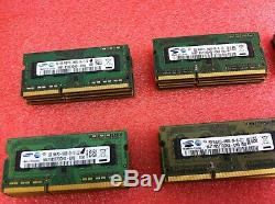 (Lot of 100) Samsung 2GB PC3-10600S 1333MHz DDR3 SODIMM Laptop Memory RAM R55