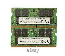 Lot of 17 8GB PC4-2400T(7), 2133P(10) Laptop Memory Ram Mixed Brands