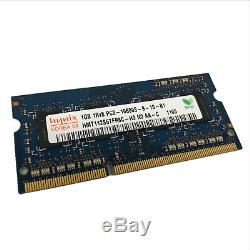 Lot of 193 Hynix 1 GB PC3-10600 (DDR3-1333) Laptop Memory RAM HMT112S6TFR8C-H9