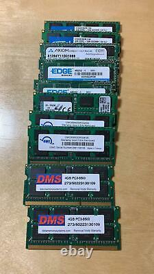 Lot of 20 4GB module PC3-8500s Laptop SODIMM DDR3 1066 MHz 204-Pin Memory RAM