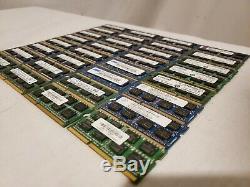 Lot of 32 4GB DDR3 1333MHz PC3-10600S Laptop SODIMM Memory RAM Mixed 128GB