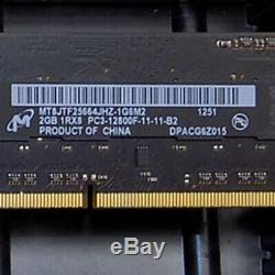 (Lot of 40) 2GB Mixed Brand DDR3 Laptop SODIMM Laptop Memory RAM Hynix, Micron