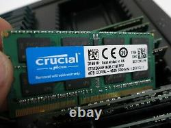 Lot of 40 4GB DDR3 DDR3L PC3 So-Dimm Laptop RAM Memory 1600MHz PC3-12800
