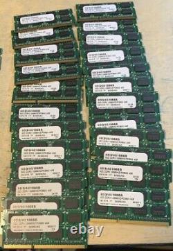 Lot of 40 4GB module PC3-8500s Laptop SODIMM DDR3 1066 MHz 204-Pin Memory RAM