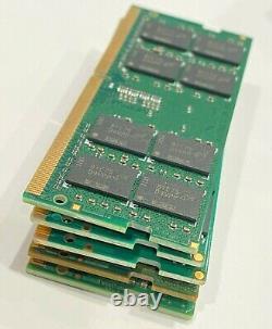 Lot of 5 16GB Hynix Samsung Mixed Brands 2Rx8 PC4-2400T DDR4 Laptop memory RAM