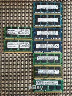 Lot of 53 mixed laptop ram memories 8gb & 4gb SK Hynix, Samsung etc
