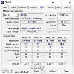 Lot of 7 8GB PC3L-12800S DDR3-1600 SO-DIMM Laptop Memory RAM Samsung Micron etc
