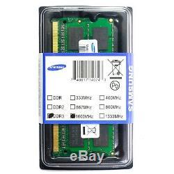 MEMORIA RAM MEMORY SAMSUNG 4GB 2Rx8 PC3 12800S 11 11 F3 DDR3 1,5V SO DIMM LAPTOP