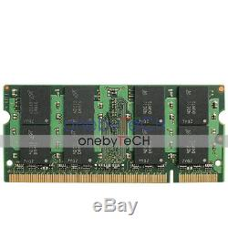 Micron 8GB KIT 2x4GB PC2-6400 DDR2-800MHz DDR2 200pin SODIMM Memory Laptop RAM