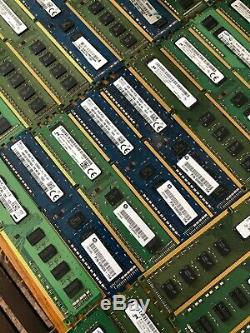 Mixed Lot of 128 4GB Laptop DDR3 PC3 Memory RAM