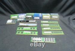 Mixed Lot of 92 Desktop & Laptop Memory Ram (Tested & Working 230GB of Ram)