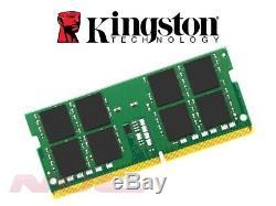 NEW Kingston 32GB (1x32GB) DDR4 PC4-21300 Laptop SO-DIMM RAM Memory 2666MHz