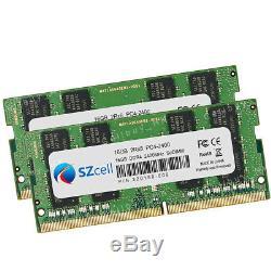 New 16GB 32GB PC4-19200S DDR4-2400MHz SO-DIMM 260PIN Non Ecc Laptop Memory RAM