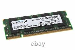 New Genuine Memory Ram Laptop DDR2 PC2 5300S 667 MHz SODIMM 200 PIN
