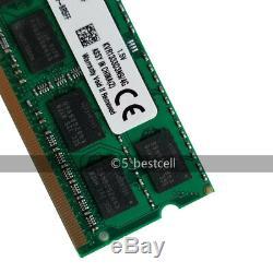 New Kingston 32GB 4x 8GB PC3-10600 DDR3 1333 MHz 204pin Sodimm Laptop Memory Ram
