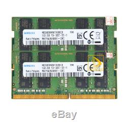 RAM For Samsung 2PCS 16GB DDR4 2400MHz PC4-19200 SODIMM 260pin Laptop Memory 32G