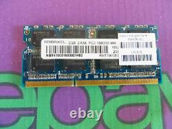 Ramaxel 2GB PC3 10600 1333 DDR3 Sodimm Laptop RAM Memory 1x 2048MB Single Stick
