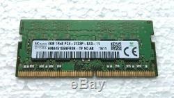 SK Hynix 4GB DDR4 1Rx8 PC4-2133P-SA0-11 Laptop Memory RAM HMA451S6AFR8N-TF