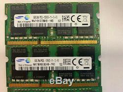 Samsun 40GB DDR3 1600MHz 2RX8 PC3L-12800S 204PIN SODIMM memory Laptop RAM 1.35V