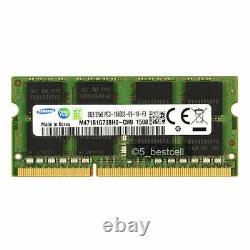 Samsung 10pcs 8GB PC3-10600 DDR3-1333MHz SODIMM 204pin Laptop Memory Ram Non-ECC